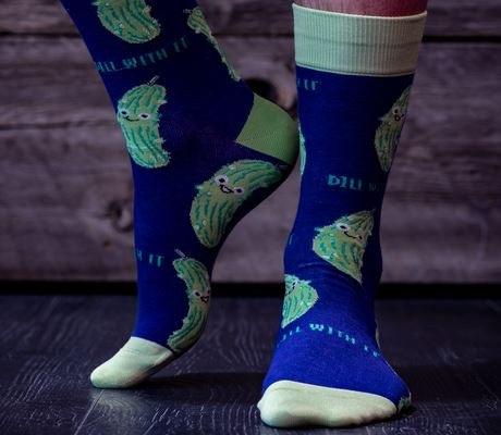 In a Pickle Crew Socks