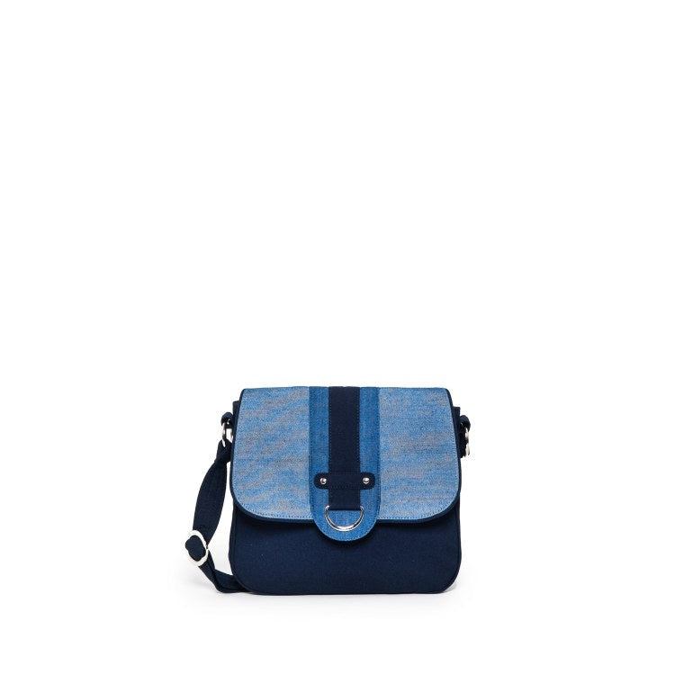 Santiago Cross Body Bag Denim