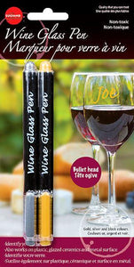 Wine Glass Pens 2 per set
