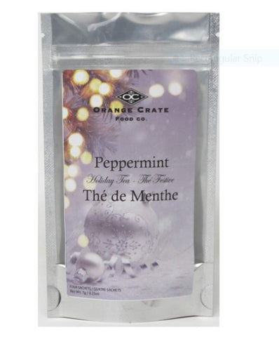 Holiday Peppermint Tea in Pouch