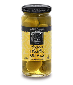 Gin Lemon Tipsy Olives