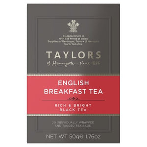 "English Breakfast Tea 20""s"