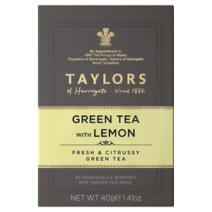 Green Tea with Lemon
