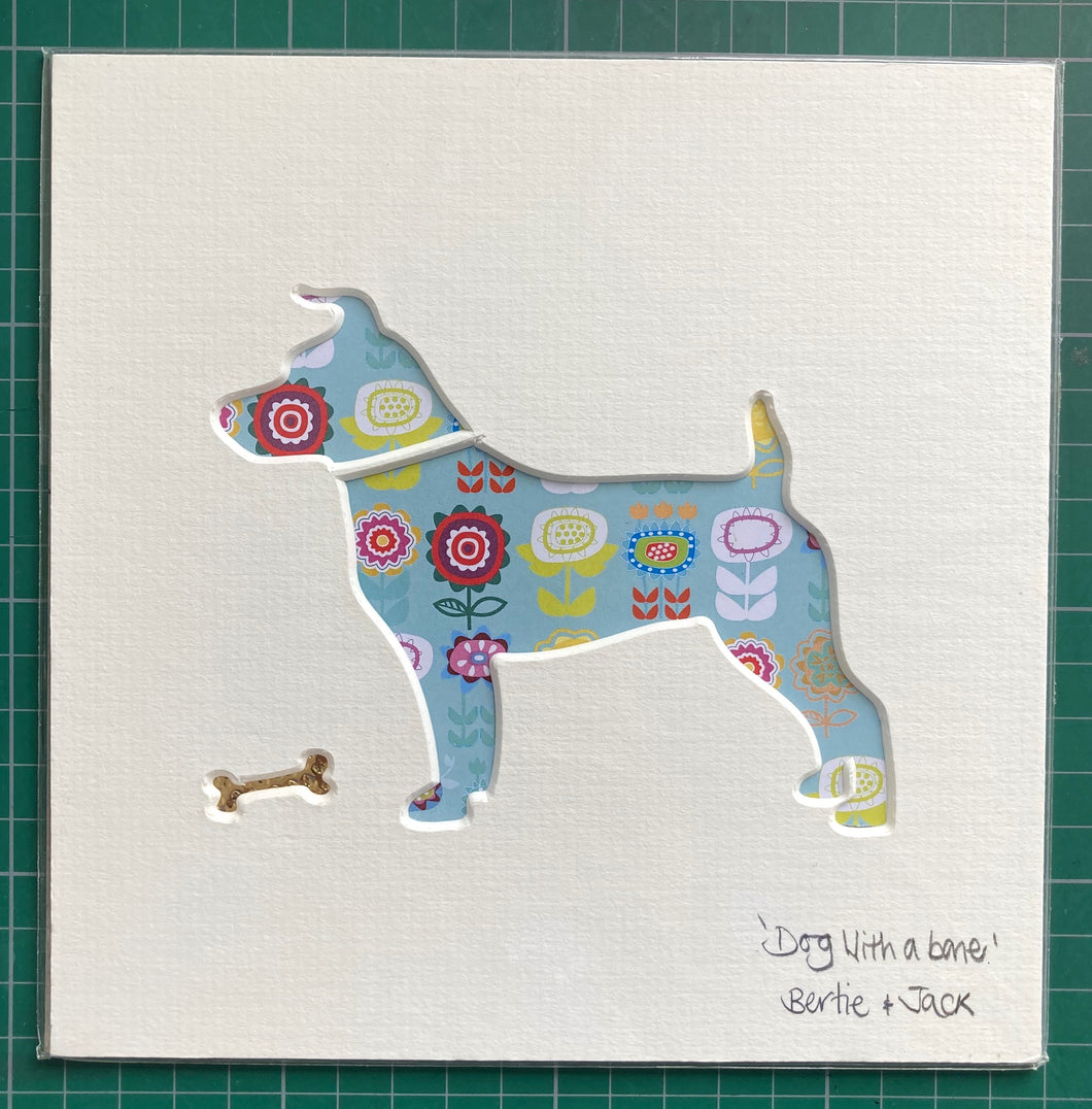SALE! Unframed Mini Doggie