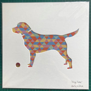SALE! Medium Unframed Play Time