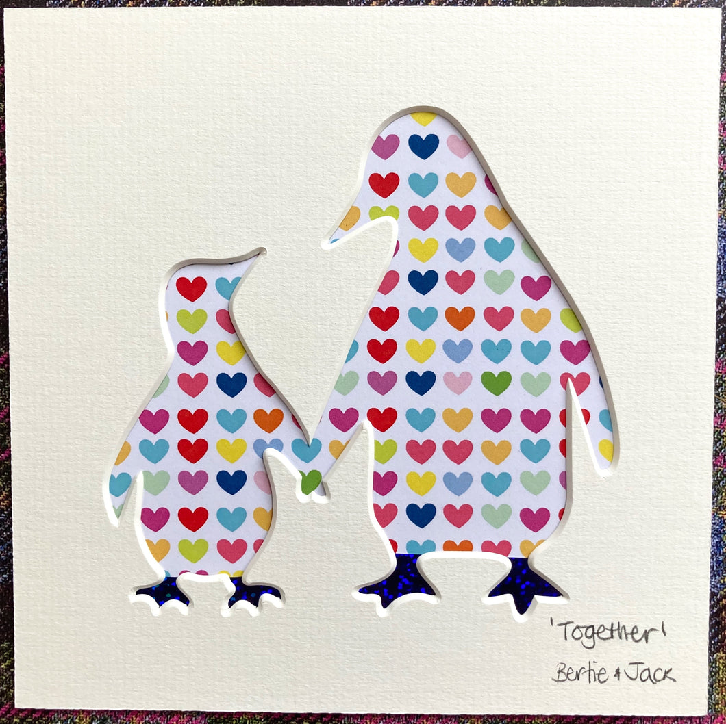SALE! Unframed mini 'Together'