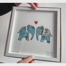 Load and play video in Gallery viewer, Bertie & Jack Always and Forever Elephants video, shown with gift box.