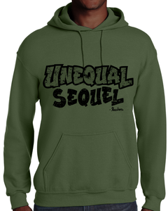 UNEQUAL SEQUEL GREEN HOODIE