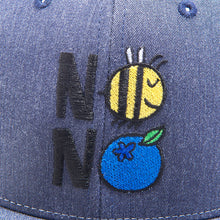 Load image into Gallery viewer, Wyman's 'No Bees No Berries' Trucker Hat