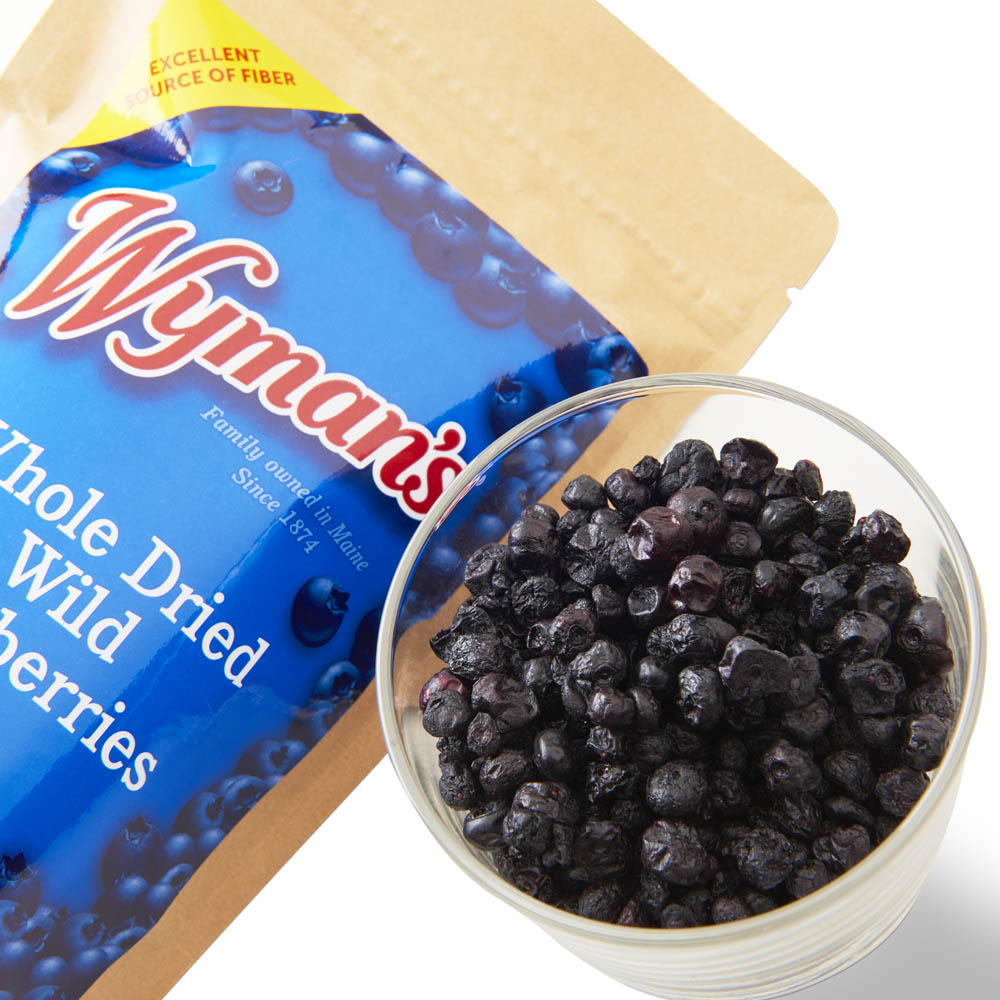Whole Dried Wild Blueberries - 4.5 oz bag