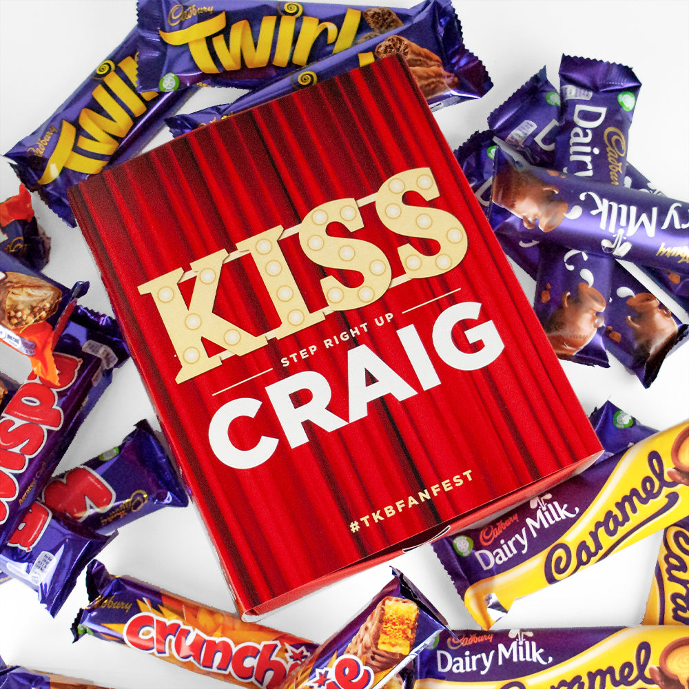 Kiss Cadburys Favourites box