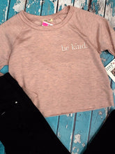 Load image into Gallery viewer, Be Kind Sweatshirt {dusty pink}