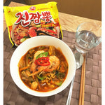 Ottogi Jin Champong - Spicy Seafood Soup Noodle
