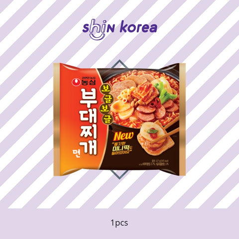 Nong Shim Spicy Army Stew Noodle (Budae Jjigae Myun)
