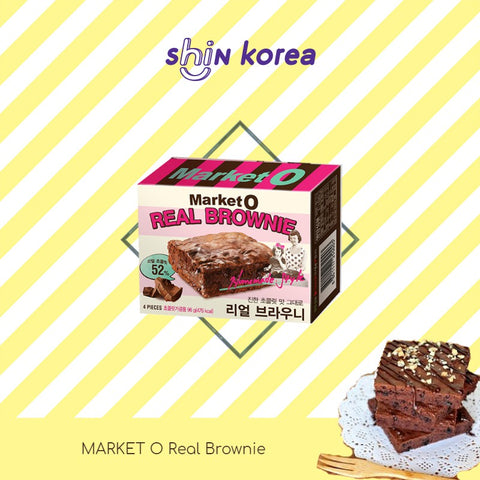 Market O Real Brownie 240g