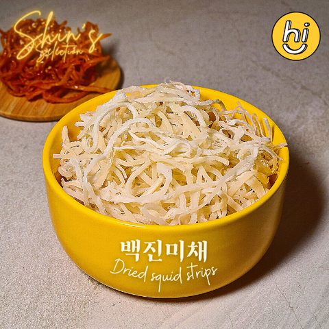 Shin's Selection Shredded Dried Squid Strips -  백진미채
