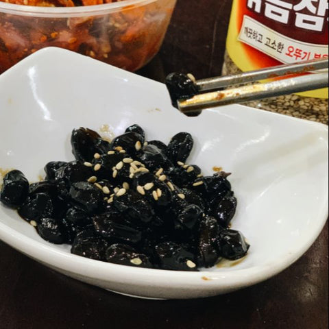 Korean Mama Homemade Braised Black Bean (Gomeun Kongjorim)