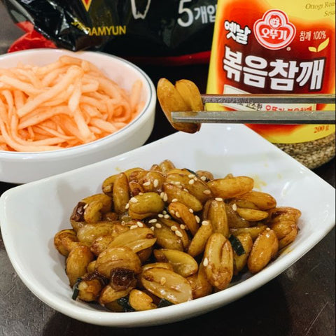 Korean Mama Homemade Soy Braised Peanut - Ddangkong Jorim