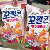 Clearance ⚠️ Lotte Corn Chip - Strawberry Party Flavor