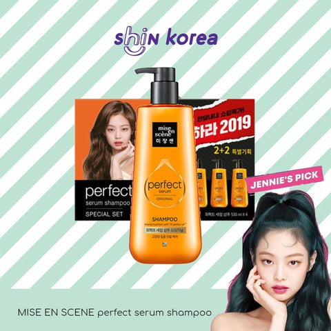 Mise En Scene Perfect Serum Shampoo 530ml [ BLACKPINK JENNIE's Pick ]
