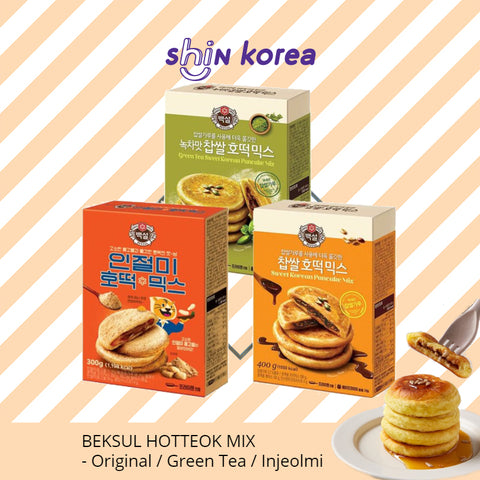 Beksul Hotteok Mix (Sweet Korean Pancake Mix)