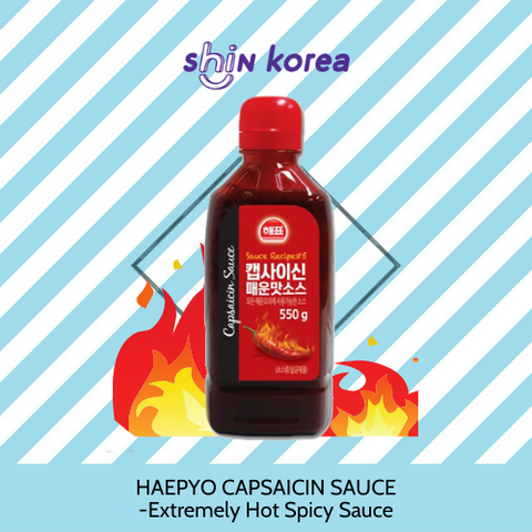Haepyo  Capsaicin Sauce - Extremely Hot Spicy Sauce