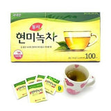 DONGSUH GREEN TEA WITH BROWN RICE Tea Bag