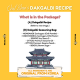 Chef Shin Recipe Bag - Dakgalbi (Spicy Stir Fried Chicken)