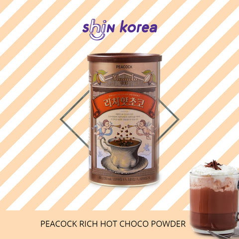 Peacock Mamolo Rich Hot Choco Powder