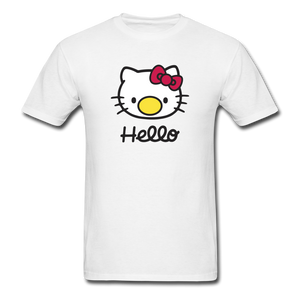 Hello! Shirt - white