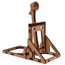 Load image into Gallery viewer, Three quarter view of catapult