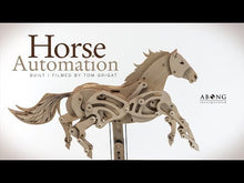 Load and play video in Gallery viewer, Horse Automaton