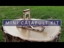 Load and play video in Gallery viewer, Quick promotional video of mini catapult kit.