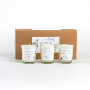 Trio of Candles Gift Set