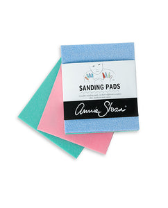 3 Sanding Pads (Fine, Medium, Coarse)