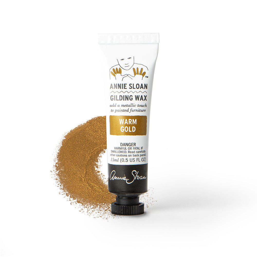 Annie Sloan™ Warm Gold Gilding Wax