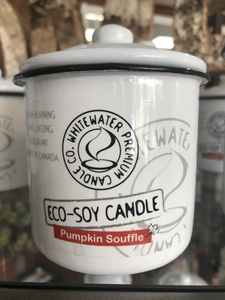Pumpkin Souffle White Water Premium Candle 18 ounce