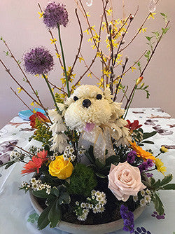 Personalized Pet Party Centerpiece