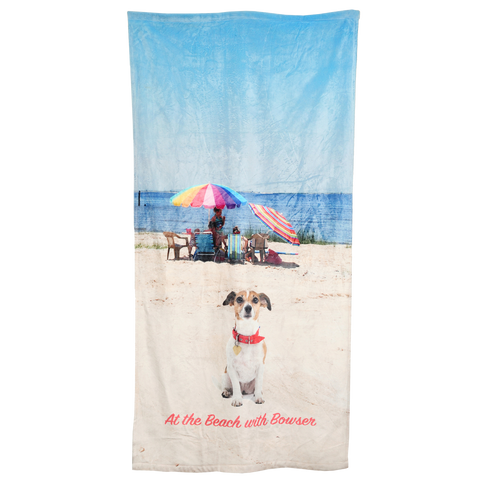 "Microfiber Super Soft Beach Towel 30"" x 60"""
