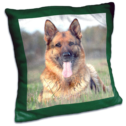 "Personalized MicroFleece Photo Pillow 20"" Square"