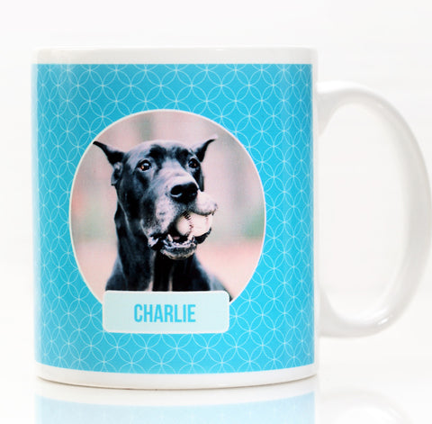 Pet Lover's Personalized Photo Coffee Mug