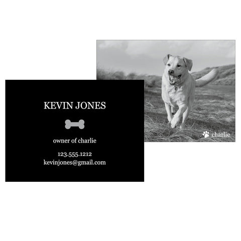 Calling Cards For Your Dog