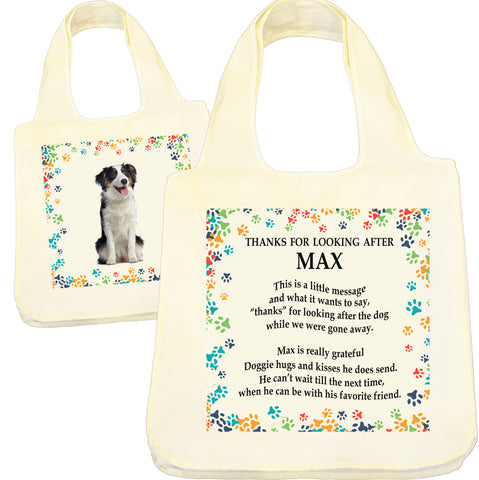 Dog Sitter Gift |  Shopping Bag