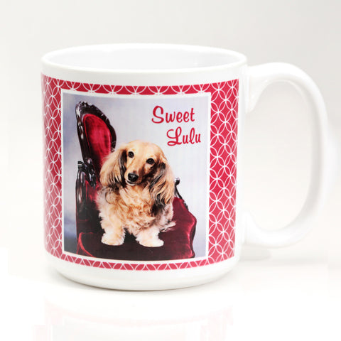 Personalized Dog Coffee Mug