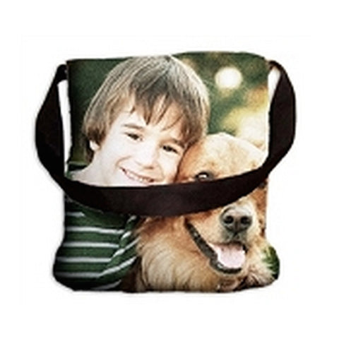 Personalized Woven Photo Tote Bag