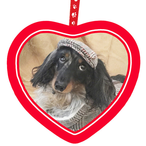 Personalized Pet Hanging Heart