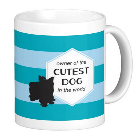 Dog Lover's Coffee Mug - Cutest Dog In The World