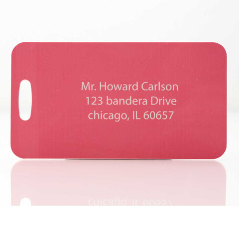 Personalized Luggage Tags / Sport Bag Tags