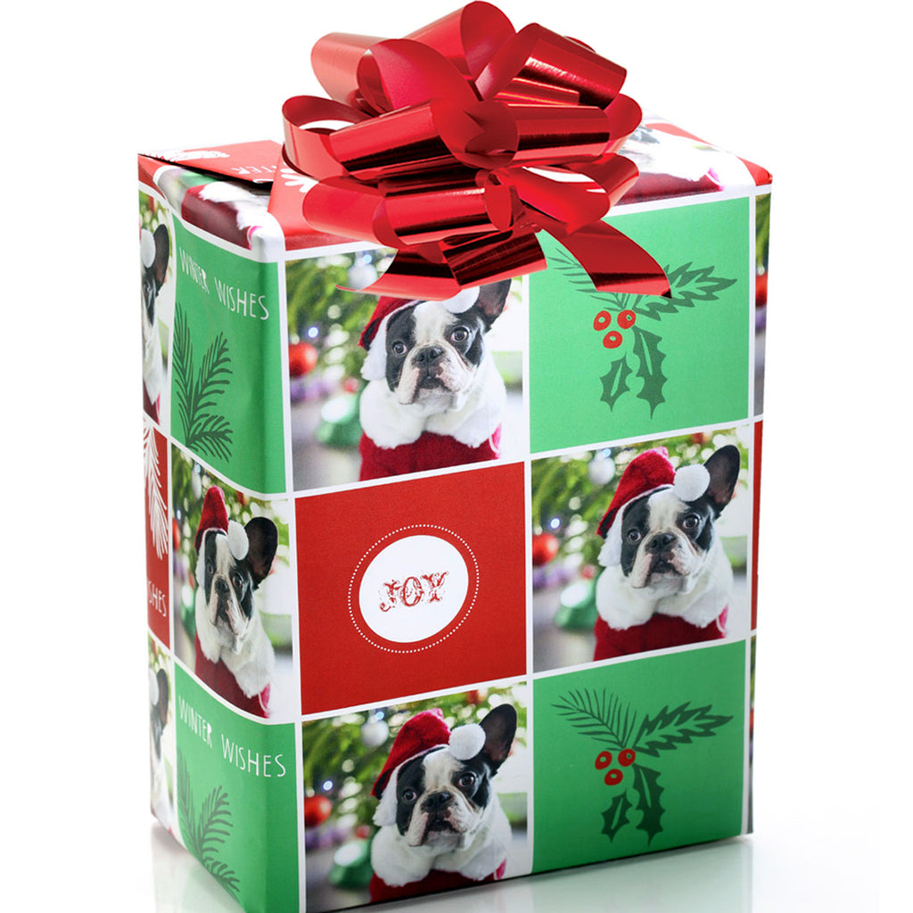 Personalized Pet Holiday Gift Wrap