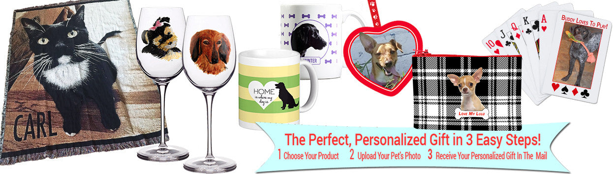 Personalized  Pet Gifts Pets & Stationery